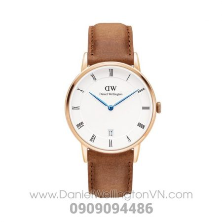 Dapper Durham 34mm Rose Gold DW00100113