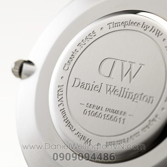 Dong ho Daniel Wellington Classic Chinh Hang 36mm Silver H.4