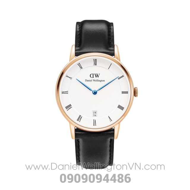 Dapper Sheffield 34mm Rose Gold DW00100092 (1131DW)