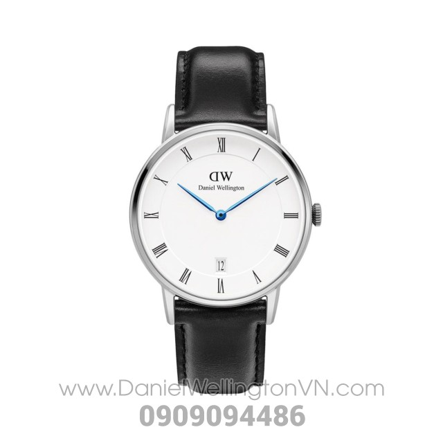 Dapper Sheffield 34mm Silver DW00100096 (1141DW)