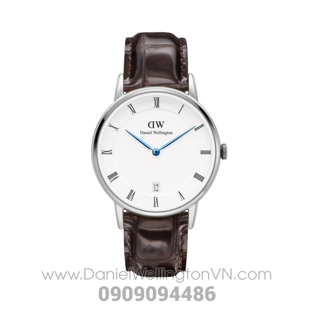 Dapper York 34mm Silver DW00100097 (1142DW)