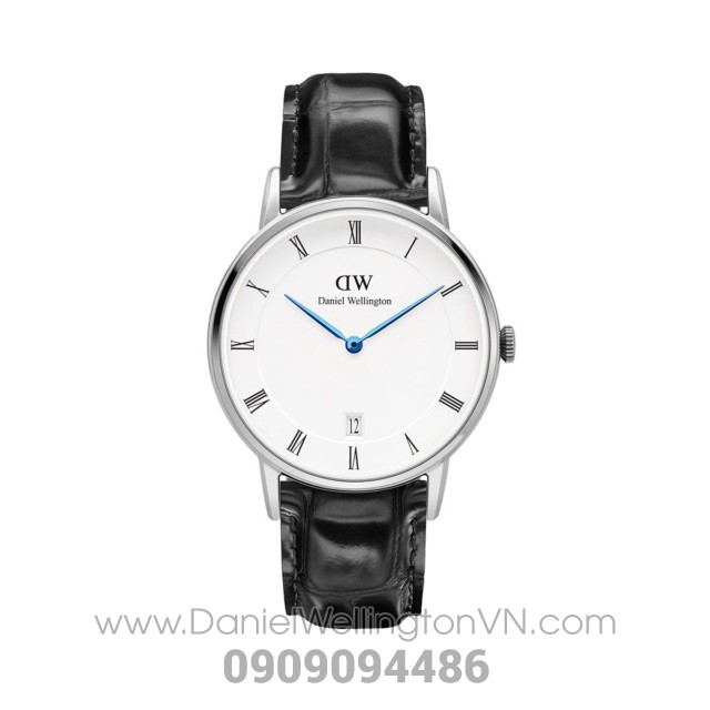 Dapper Reading 34mm Silver DW00100117