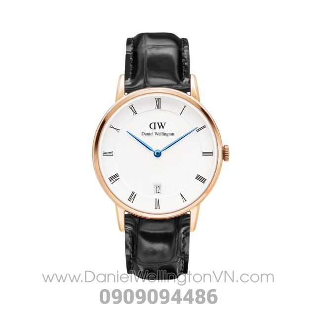 Dapper Reading 34mm Rose Gold DW00100118
