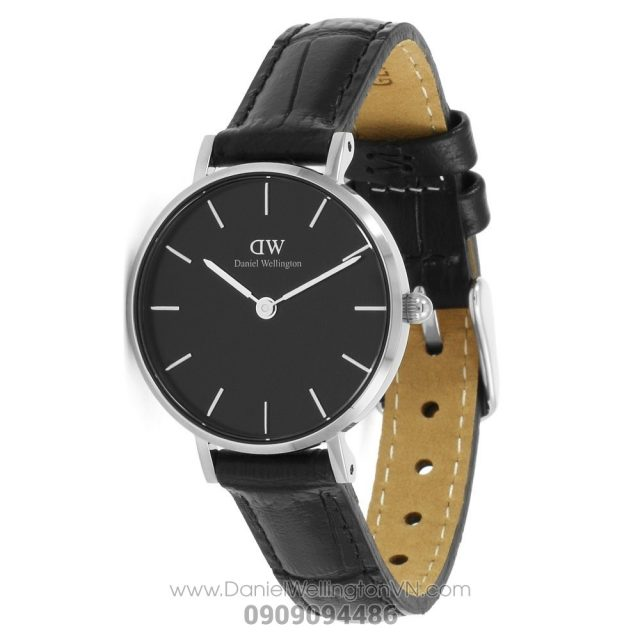 Classic Petite Reading 28mm Black Silver DW00100235